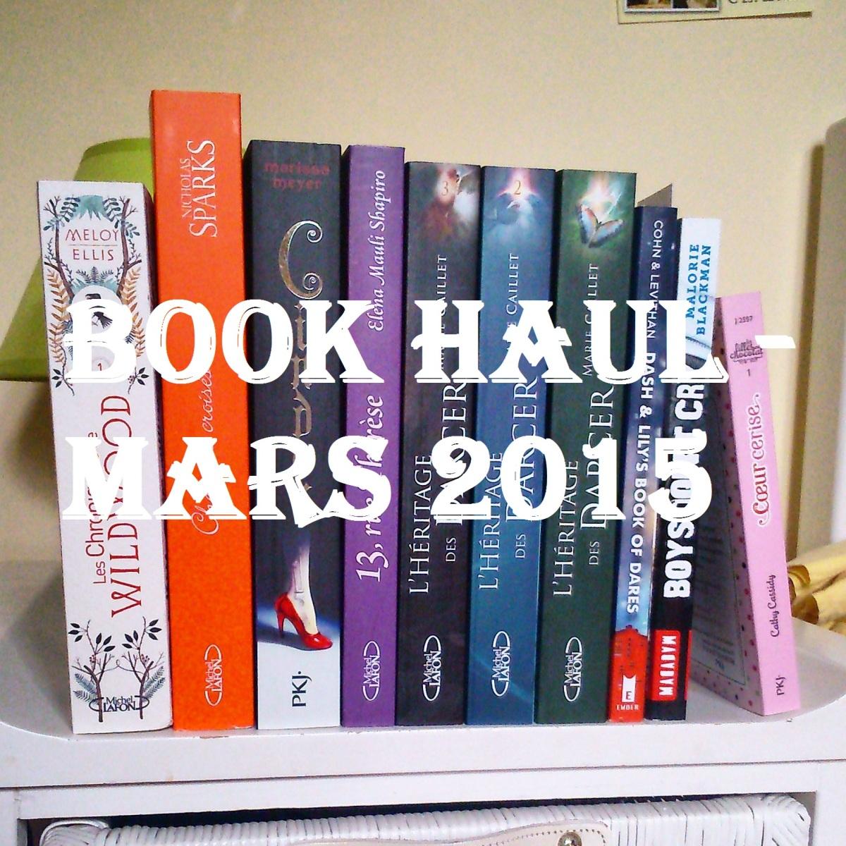 Book haul - Mars 2015